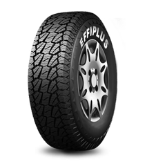 3D tiger-teeth tread blocks provide excellent grip for both on and off road. Special Cut Resistance Compound enhances the tire shoulders. Unequal Depth Grooves reduce noise.