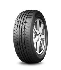 Silica compound delivers reduced rolling resistance for better fuel efficiency. Asymmetrical tread design provides excellent grip and handling.